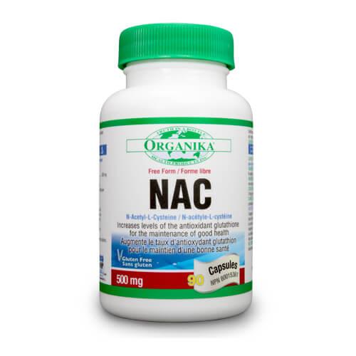 NAC (N-acetil-cisteina)