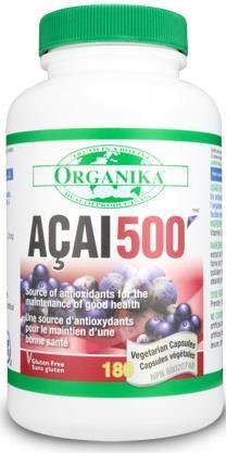 ACAI 500 - 500 mg - 180 capsule - Pomisoare Braziliene
