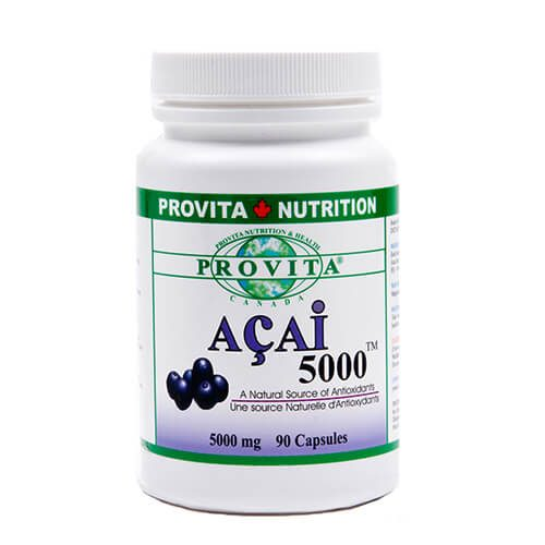 Acai 5000 - 90 capsule - 5000 mg - antioxidant, nutrient, nutritiv