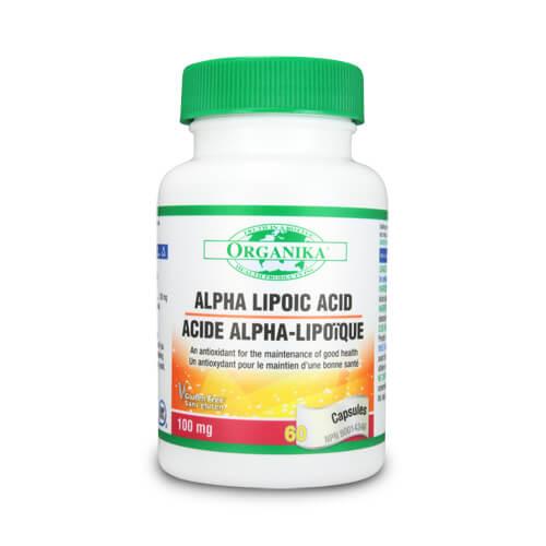 Acid Alfa Lipoic - 100 mg - antioxidant 100% natural, hepatoprotector, puternic detoxifiant pentru ficat.