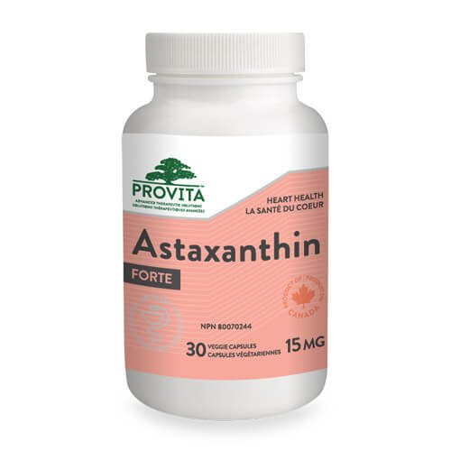 Astaxanthin Forte - 15 mg - 30 capsule de origine vegetala - antioxidant, tratament naturist Alzheimer, remediu naturist Parkinson
