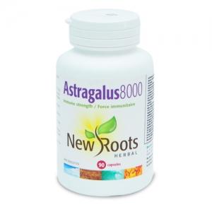 Astragalus 8000 mg - 90 capsule - antioxidant, antiviral, detoxifiant, antitumoral, imunostimulator, protector renal, protector pulmonar, hepatoprotector