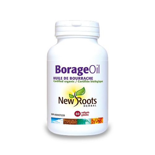 Borage Oil pur - 1000 mg - 60 capsule moi