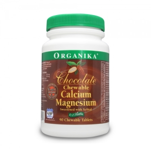 Ciocolata cu calciu si magneziu masticabila