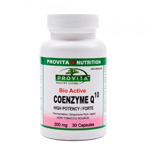Coenzima Q10 forte - 30 capsule - 200mg ubiquinona
