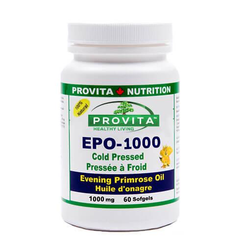 Omega 6 - EPO1000 - Evening Primrose Oil - Ulei de Primula