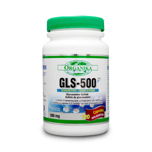 GLS-500 - Glucozamina sulfat - 500 mg - 120 capsule