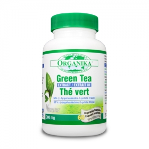 Green tea - extract concentrat de ceai verde forte - 300 mg - 60 capsule