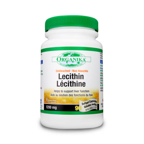 Lecithin - Lecitina pura - 1200 mg - 90 capsule