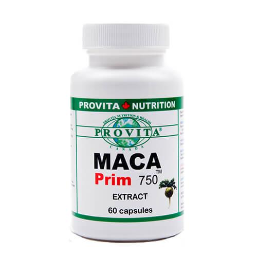 Maca prim 750 - 750 mg - 60 capsule
