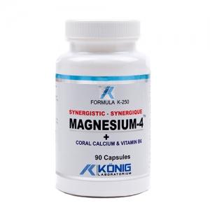 Magnesium-4 cu calciu coral si vitamina B6