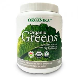 Organic Greens drink mix powder