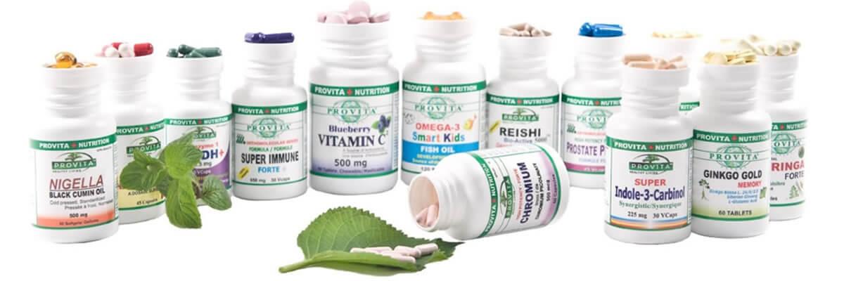 Produse Provita - Provita Nutrition - Farmacia Canadiana