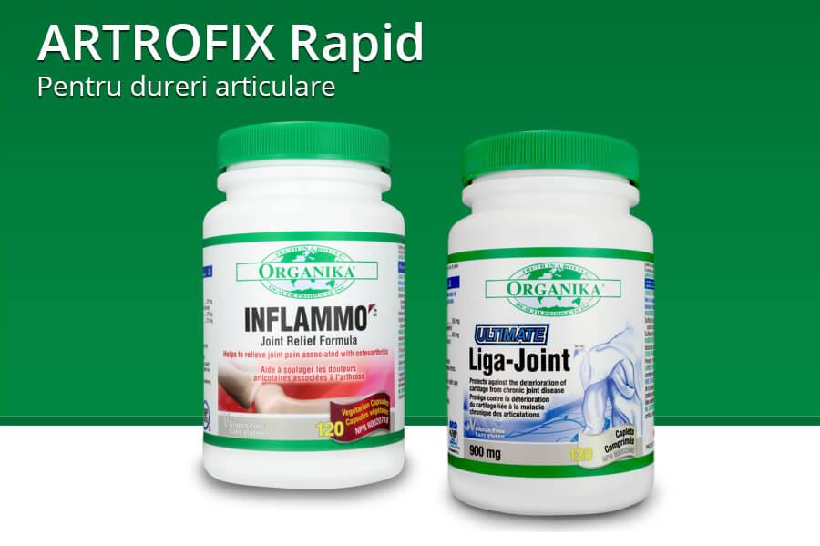 Protocol Atrofix rapid - produse naturiste pentru dureri articulare