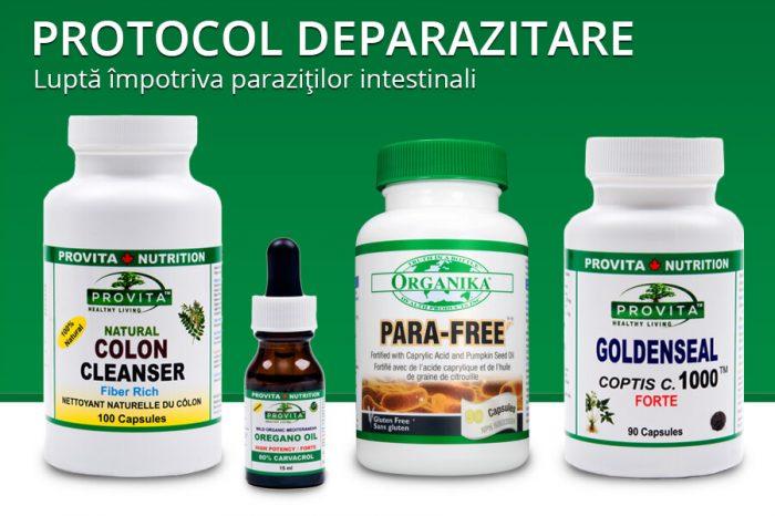 Protocol deparazitare - Produse Naturiste Provita