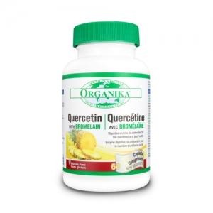 Quercetin bioactiv cu bromelaina