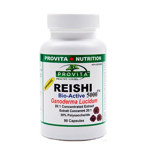 Reishi 5000 Ganoderma: extract bioactiv standardizat - 90 capsule