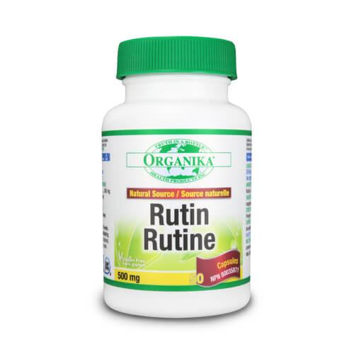 Rutin forte, cu vitamina P - 500 mg - 50 capsule
