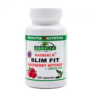 Slim Fit cu cetona de zmeura (Raspberry Ketone) - 120 capsule