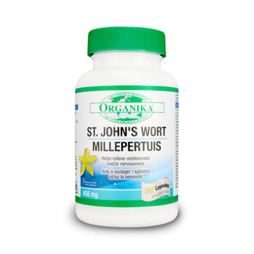 St. John's Wort - 450 mg - tratament depresie
