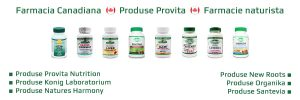 Tratamente naturiste - Produse naturiste - Farmacia canadiana - Farmacie naturista