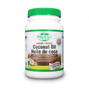 Ulei de cocos cu Omega-3 (Virgin Coconut Oil)