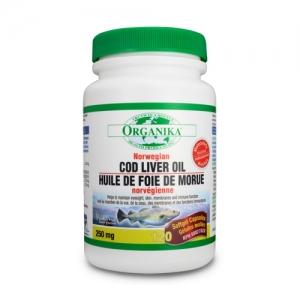 Ulei din ficat de cod norvegian - Cod liver oil