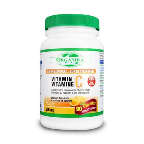 Vitamina C 500 super tamponata cu bioflavonoizi si rutina