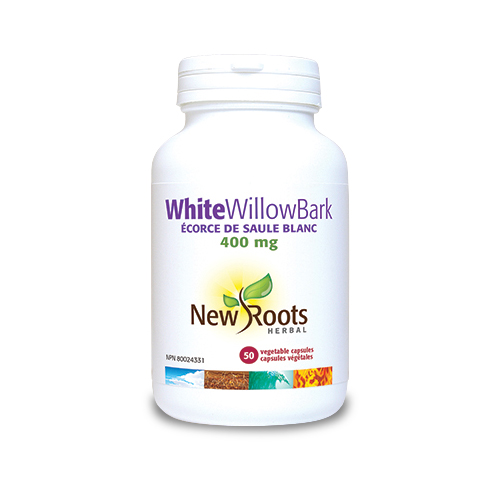 White Willow Bark - 400 mg - 50 capsule vegetale